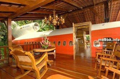 Гостиница в самолете - для любителей необычного отдыха