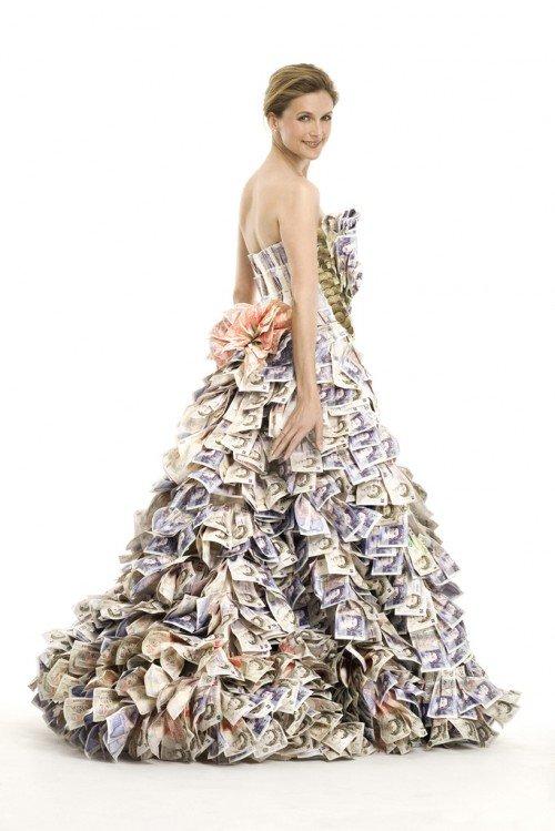 Платье на миллион фунтов