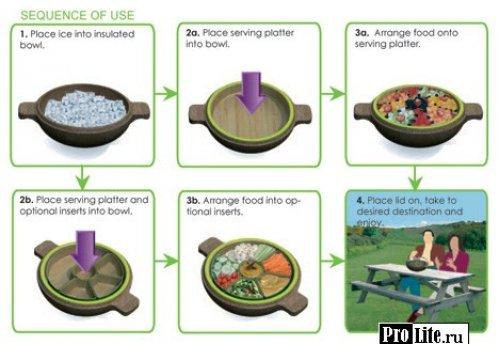 Свежий и холодный салат