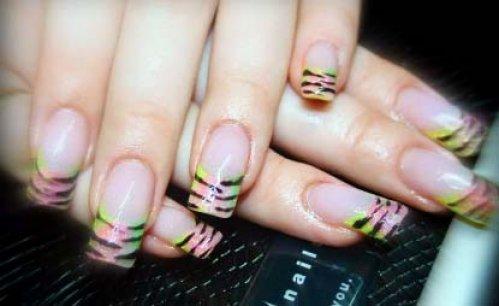 Дизайн и наращивание ногтей. Рисунки на ногтях.