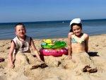 Чем занять ребёнка на пляже