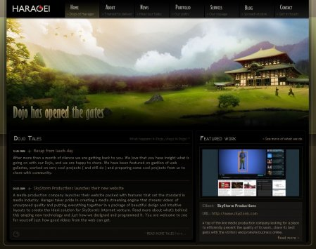 Красочный и летний веб-дизайн