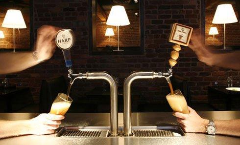 Разливное пиво из персонального крана