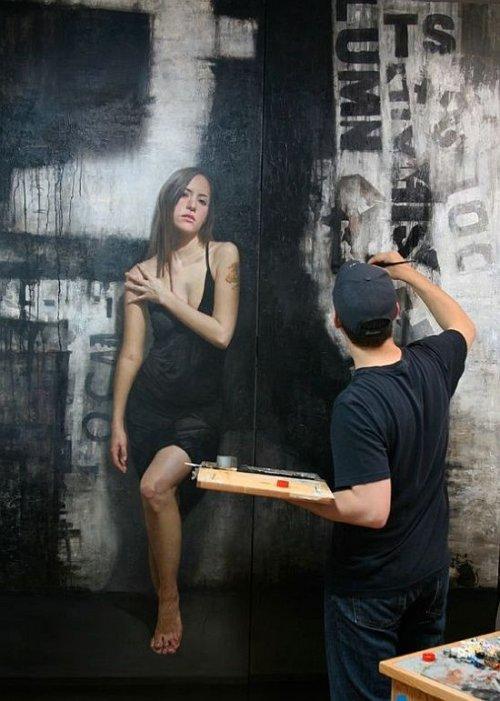 Невероятные рисунки на стенах