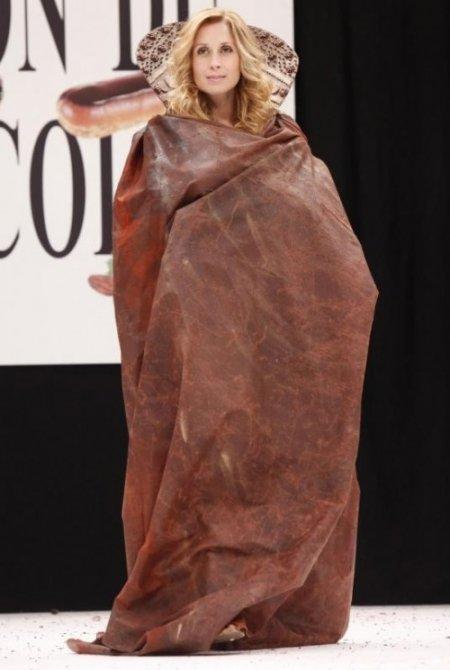 Шоколадный показ на Salon du Chocolat Paris 2009