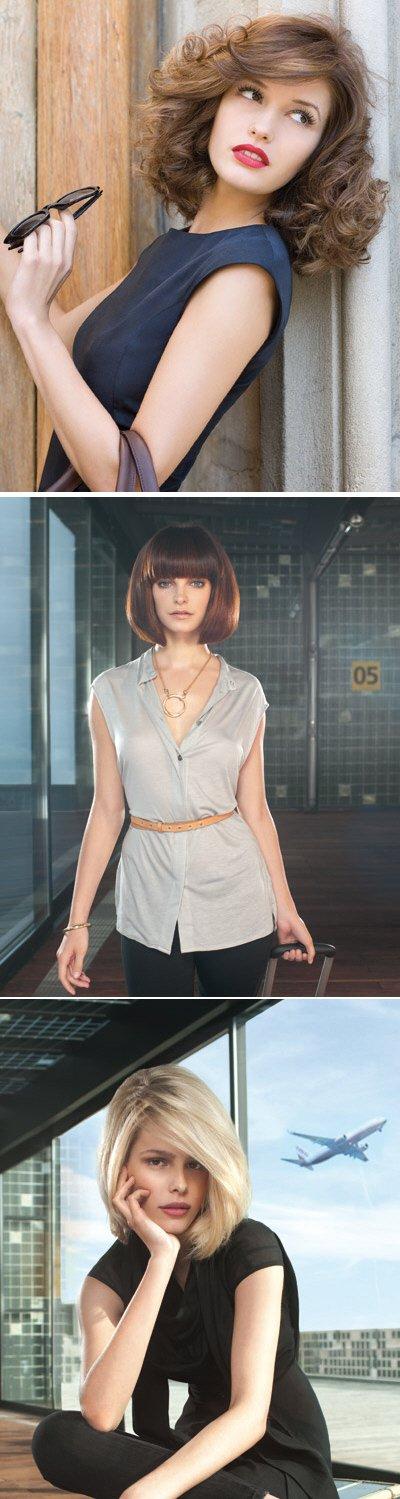 Модные прически 2010