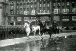 Маршалы СССР Жуков и Рокоссовский на Параде Победы в Москве