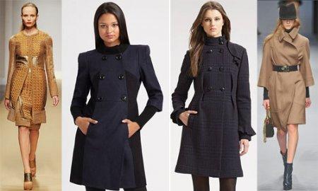 Выбираем подходящее пальто