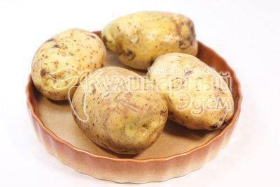 Картофель фаршированный мясом