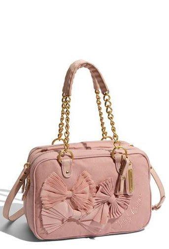 Сумочка Monroe от Juicy Couture: блондинки предпочитают розовое