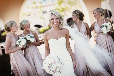 Свадебный дресс-код – наряды для невесты и ее подружек