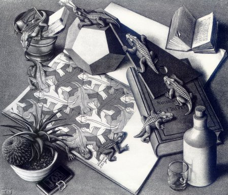 Иллюзии Maurits Escher