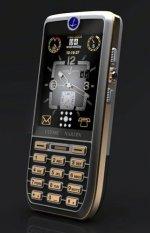 Мобильник с часовым заводом